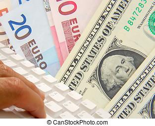 bankvirksomhed, internet