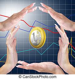 bankwezen, handel concept