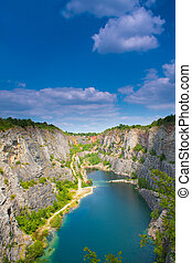Quarry America - Banned Quarry America near Prague in Czech...