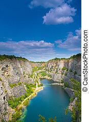 Quarry America - Banned Quarry America near Prague in Czech...