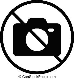 banned vector glyph flat icon