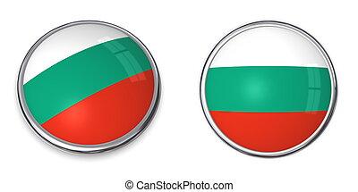 Banner Button Bulgaria