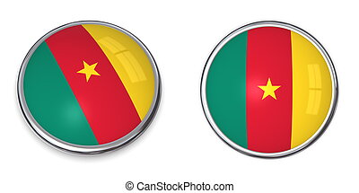 Banner Button Cameroon