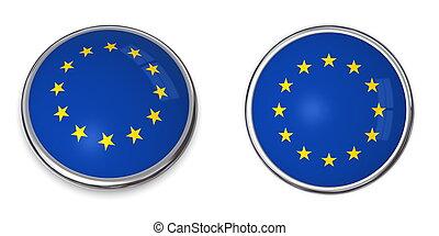 Banner Button European Union