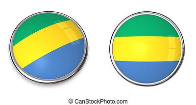 Banner Button Gabon