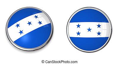 Banner Button Honduras