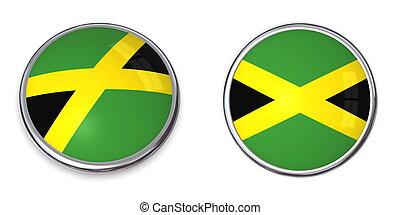 Banner Button Jamaica