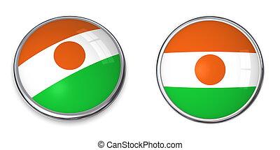Banner Button Niger