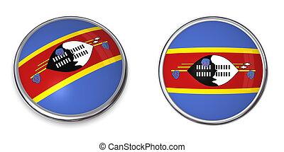 Banner Button Swaziland
