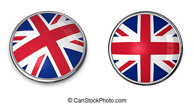Banner Button United Kingdom - button style banner of united...