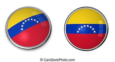 Banner Button Venezuela