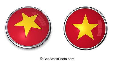 Banner Button Vietnam
