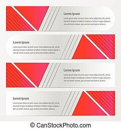 banner design pink color