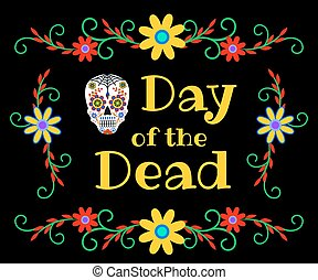 banner for Day of the Dead - Mexican Day of the Dead, Dia de...