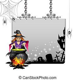 Banner for Halloween
