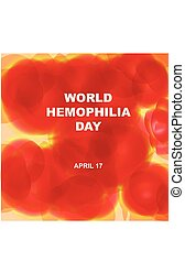 Banner for World Hemophilia Day