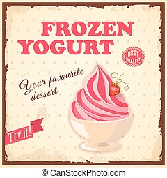 banner frozen yogurt