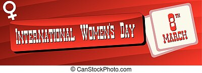 Banner International Women is Day - Banner for the...