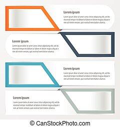 banner layout   Orange , blue, gray color