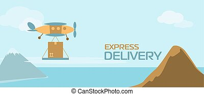 Banner of delivery