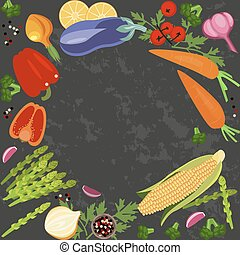 Banner of Raw food