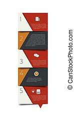 banner., programa, infographic., minimalistic, vetorial, desenho, aba