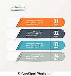Banner Rounded design Orange , blue, gray color