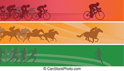 banner, sport