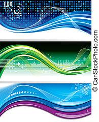 banner, technologie