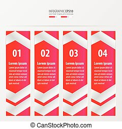 banner template design layout pink color