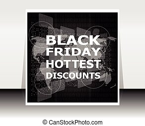 Banner template for black Friday sale.