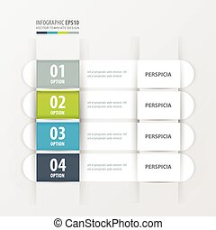 banner template Green, blue, gray color