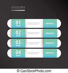 banner template neon blue