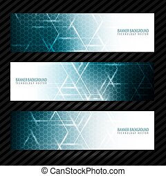 Banner vector design background