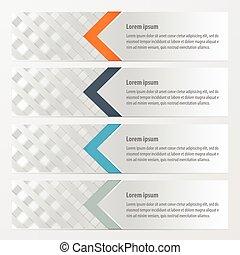 banner weave style Orange , blue, gray color