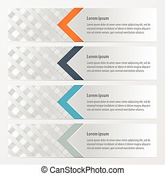 banner weave style Orange , blue, gray color