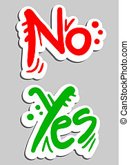 Banner yes-no
