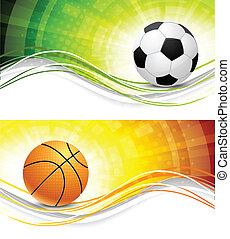bannere, sport