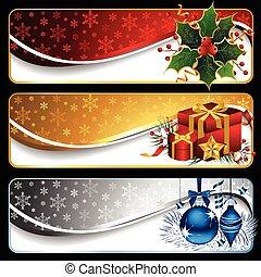 banners, рождество