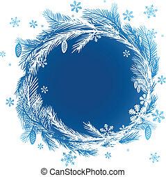 banners., weihnachten, vektor, design, element.