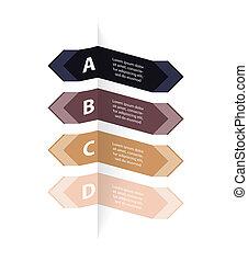 bannière, conception, options, spécial