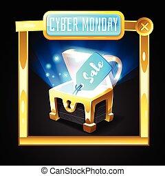 bannière, cyber, lundi, gabarit
