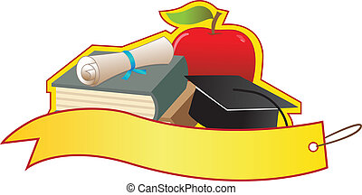 bannière, remise de diplomes