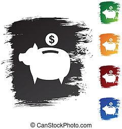 banque pièce monnaie