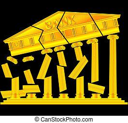banques, effondrement