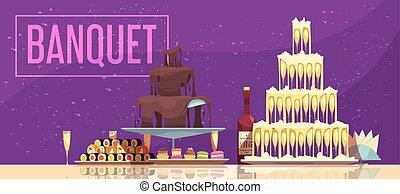 Banquet Horizontal Banner