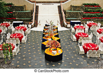 banquet in asian style