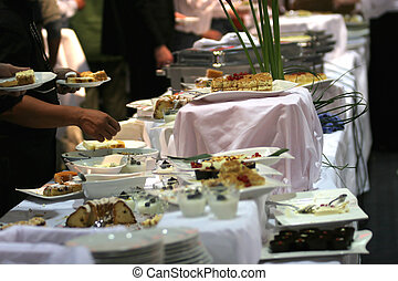 Banquet - Table full of various sweets