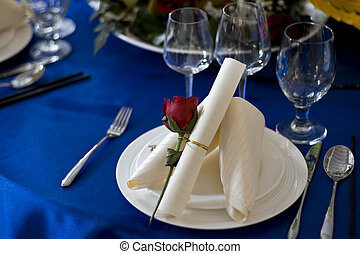banquet table - Banquet table setting for wedding in china