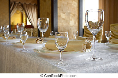 Banquet table